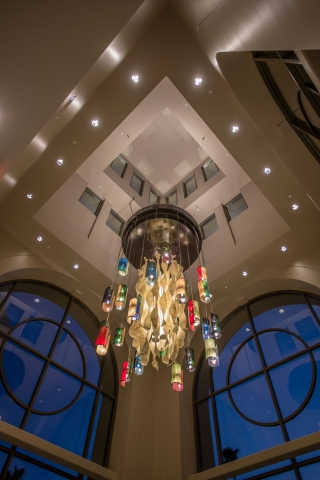 Riverside Convention Center Chandelier