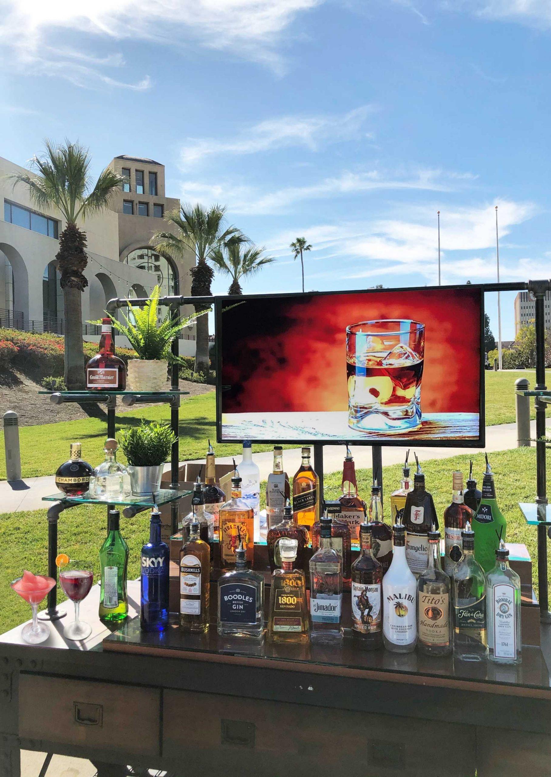 Spirits bar outside convention center