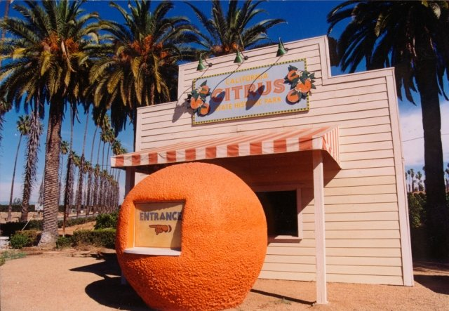California State Citrus Historic Park Entrance