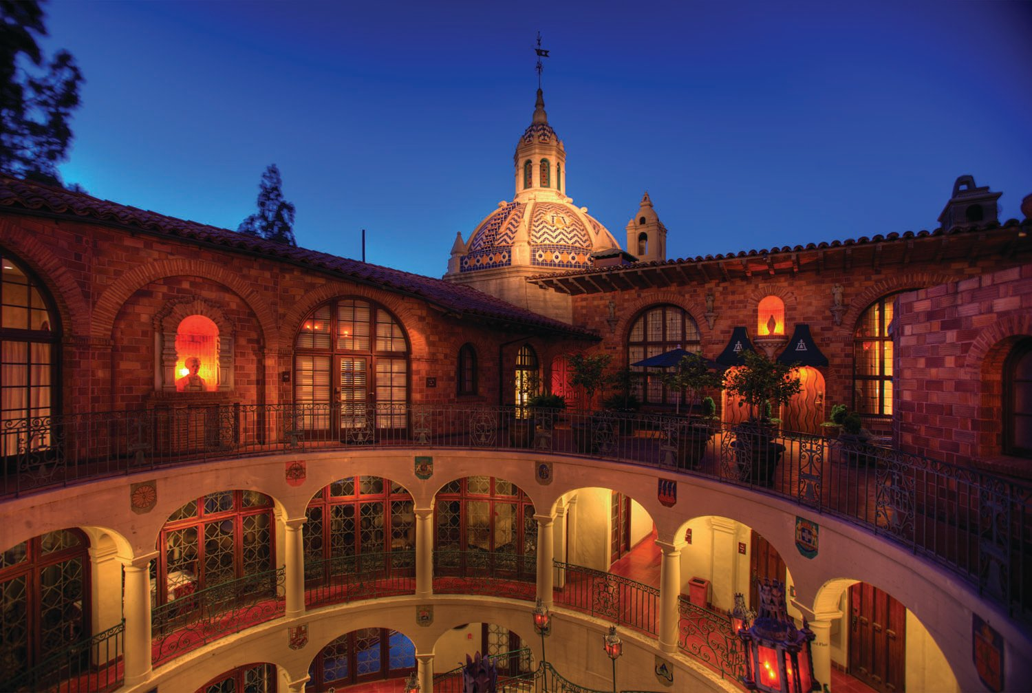 Riverside Mission Inn Rotunda
