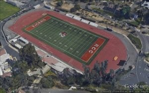 Arial View Wheelock Stadium