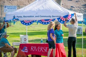 Special Olympics BBQ at the Riverside Fairmont Park, July 22, 2015. (Eric Reed/Riverside Convention Center & Visitors Bureau)