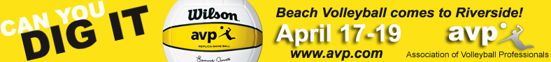 Association of Volleyball Professionals April 17-19