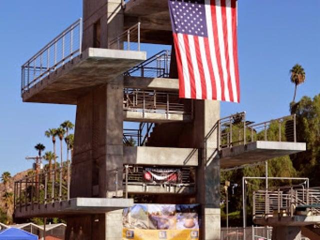 Riverside Aquatics Complex Dive Tower