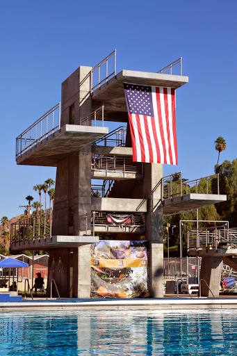 Riverside Aquatics Complex Dive Tower
