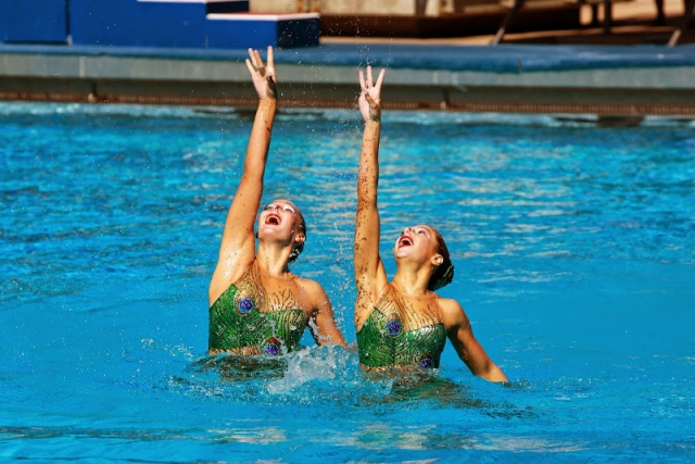 UANA Synchronized Duets at Riverside Aquatics Complex