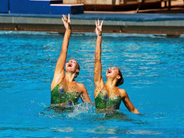 UANA Synchronized Duets at Riverside Aquatics Complex