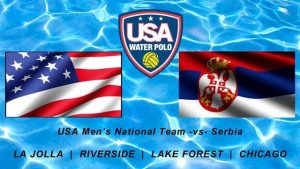 USA v. Serbia Water Polo International Exhibition