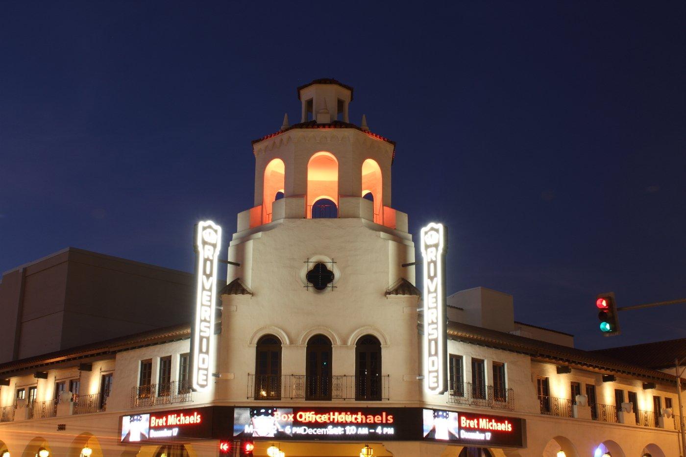 Riverside Fox Performing Arts Center exterior view