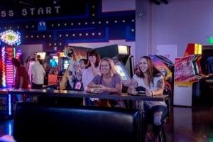 Women enjoy the Game Lab