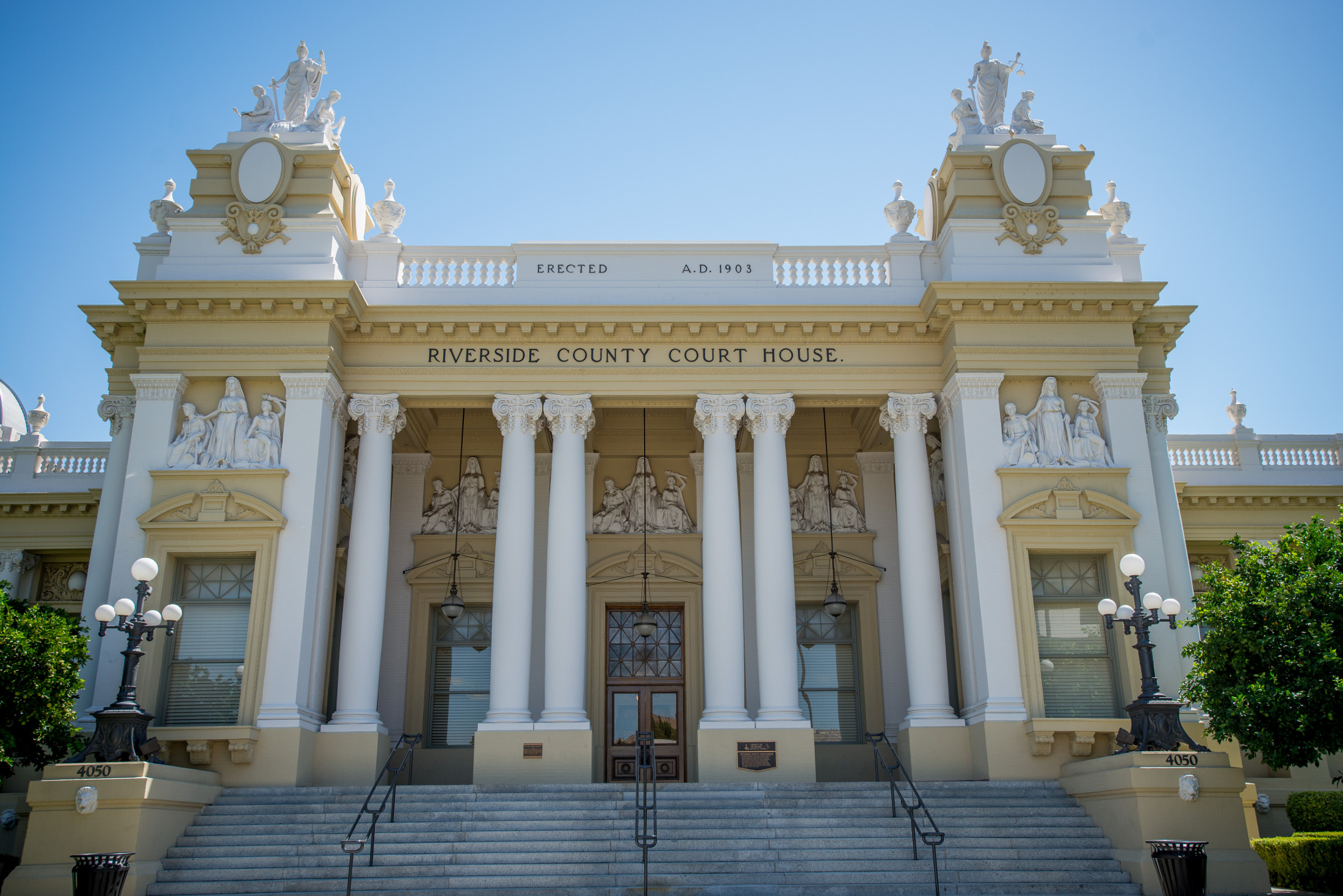 Historic Riverside County Courthouse