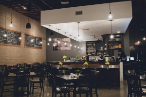 Dining room at The Salted Pig