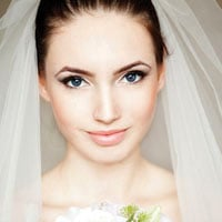 Portrait of a fresh and lovely bride