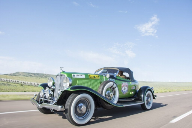 1931 Auburn Boattail Speedster of Chad and Jennie Caldwell