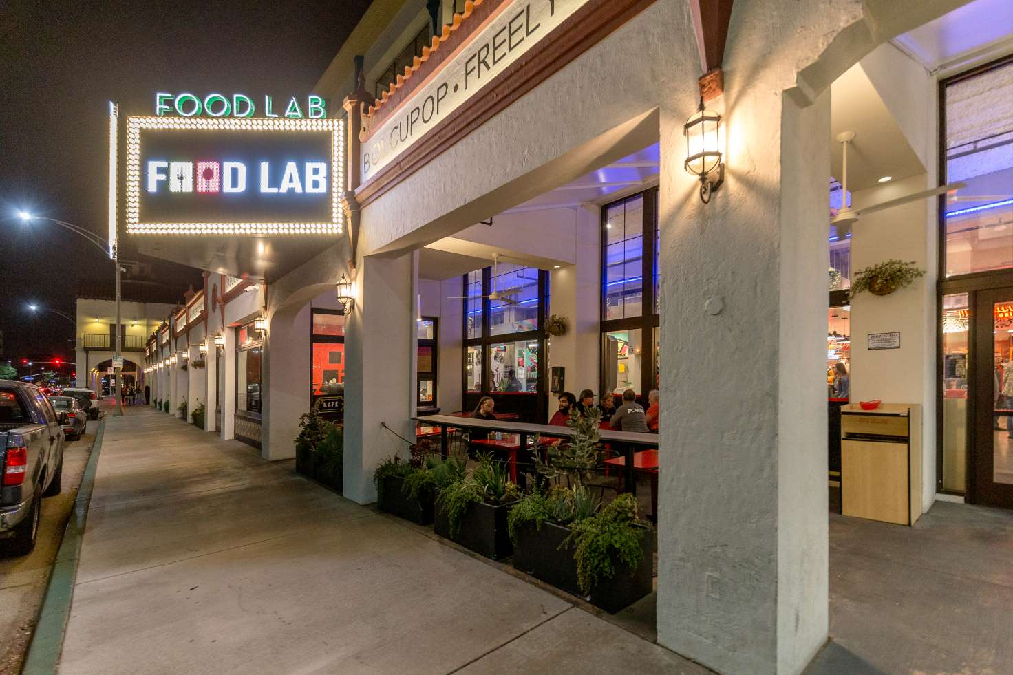 Food Lab Outside