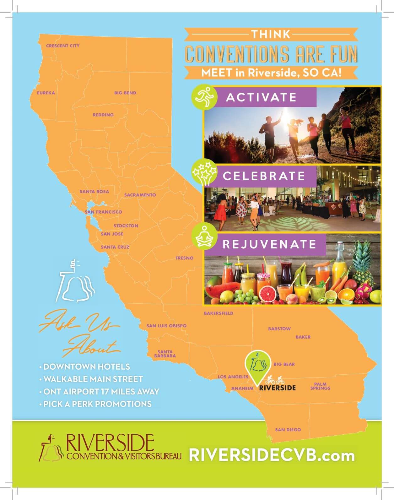 Riverside Convention and Visitors Bureau flyer