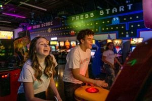 Play classic arcade games at the Game Lab